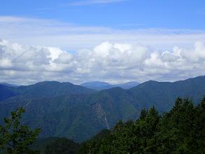 萩太郎山と茶臼山