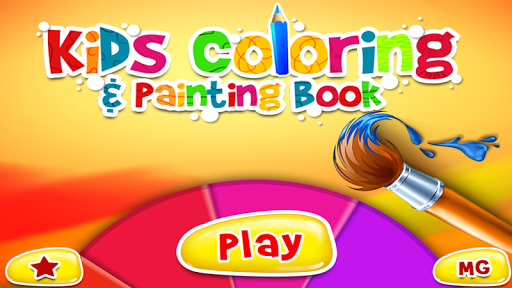 Kids Coloring Painting Book