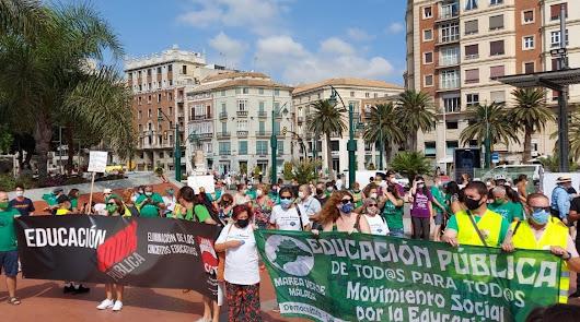 """Marea Verde convoca este jueves una huelga """"en defensa de la educación pública"""""""