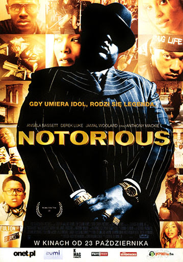 Przód ulotki filmu 'Notorious'