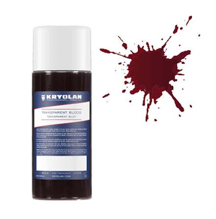 Blod, transparent 250 ml mörk
