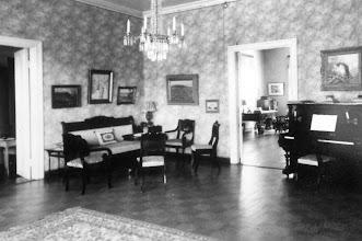 Photo: Nisulan kartanon sali 1938