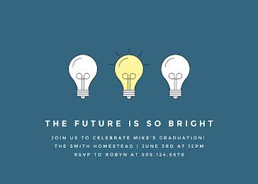Mike's Graduation Party - Graduation Announcement template