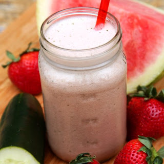 Strawberry-Watermelon Hydrating Smoothie.