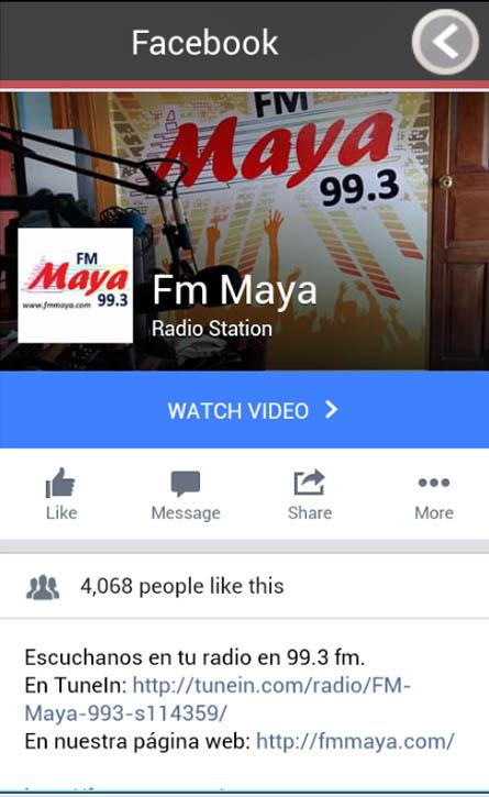 Fm Maya 99.3- screenshot