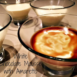 White Chocolate Mousse.