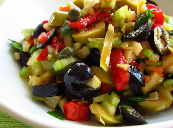 Oh, Oh, Olive Salad Recipe