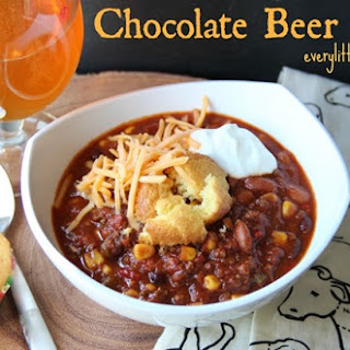 Chocolate Beer Chili