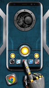 Mechanical Metal Themes HD Wallpapers 3D icons 1.0 Mod APK (Unlock All) 1