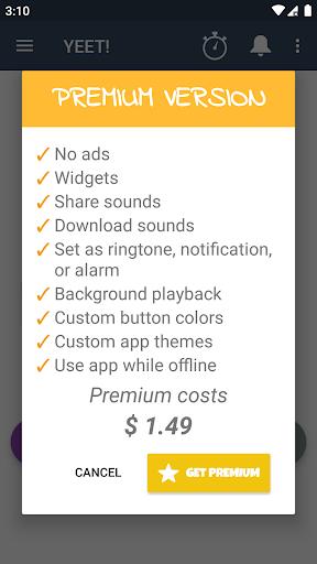 YEET! Button screenshot 5