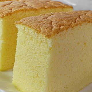 COCONUT PINEAPPLE OGURA CAKE ♥ 相思蛋糕 ♥.
