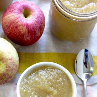 Homemade Applesauce..