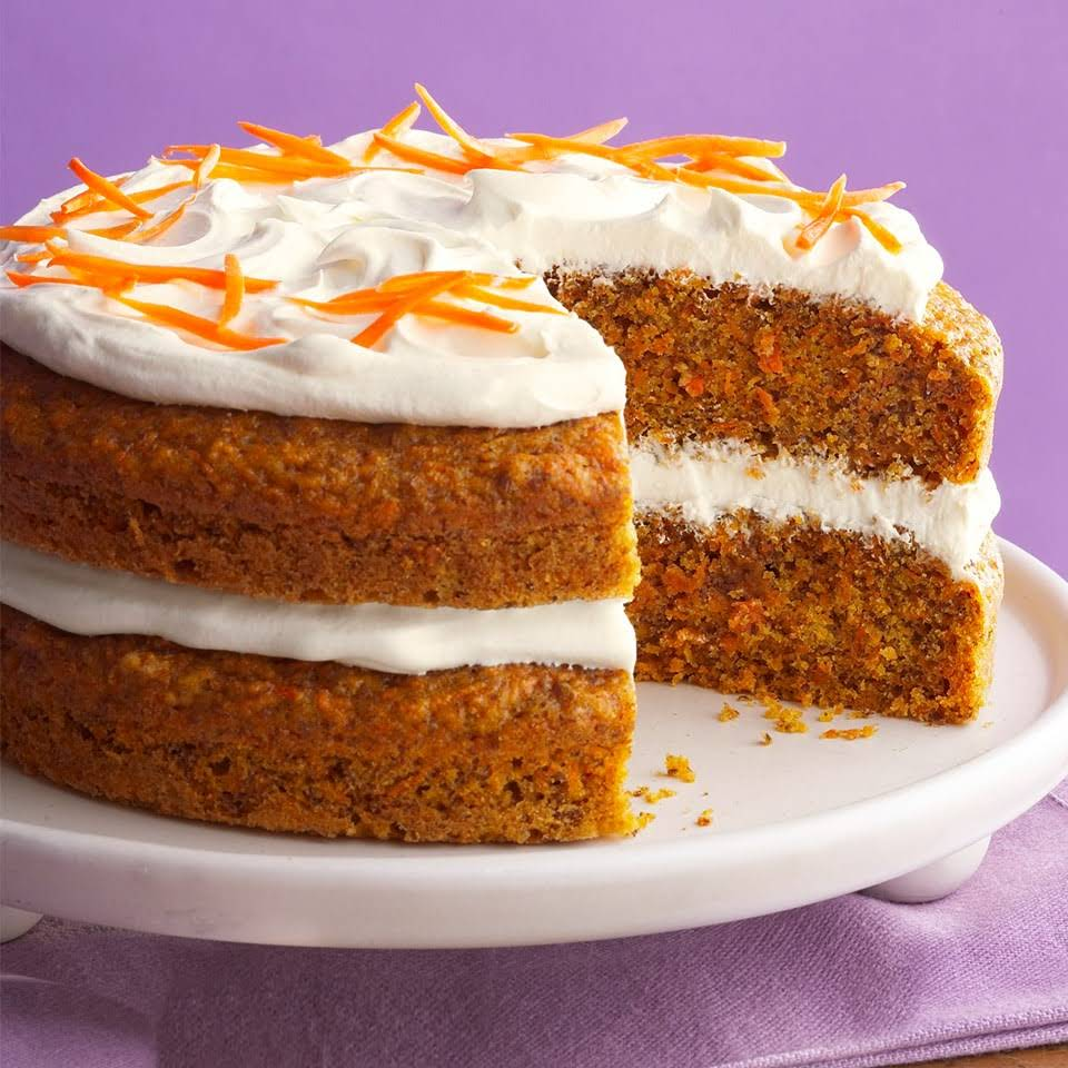 Diabetic Carrot Cake With Applesauce