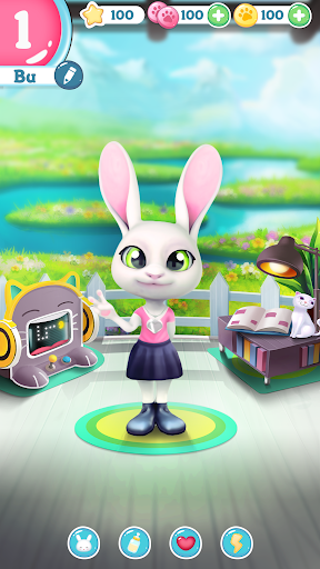 Bu the virtual Bunny - Cute pet care game 2.7 screenshots 5