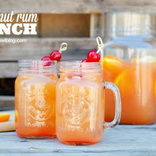 Coconut Rum Punch.
