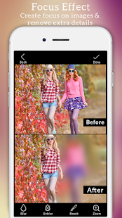 Blurfoto : Auto blur photo background & DSLR focus Screenshot