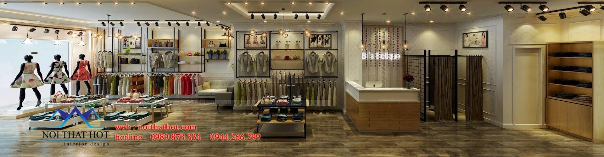 thiết kế shop thời trang nữ Bi's Boutique 10