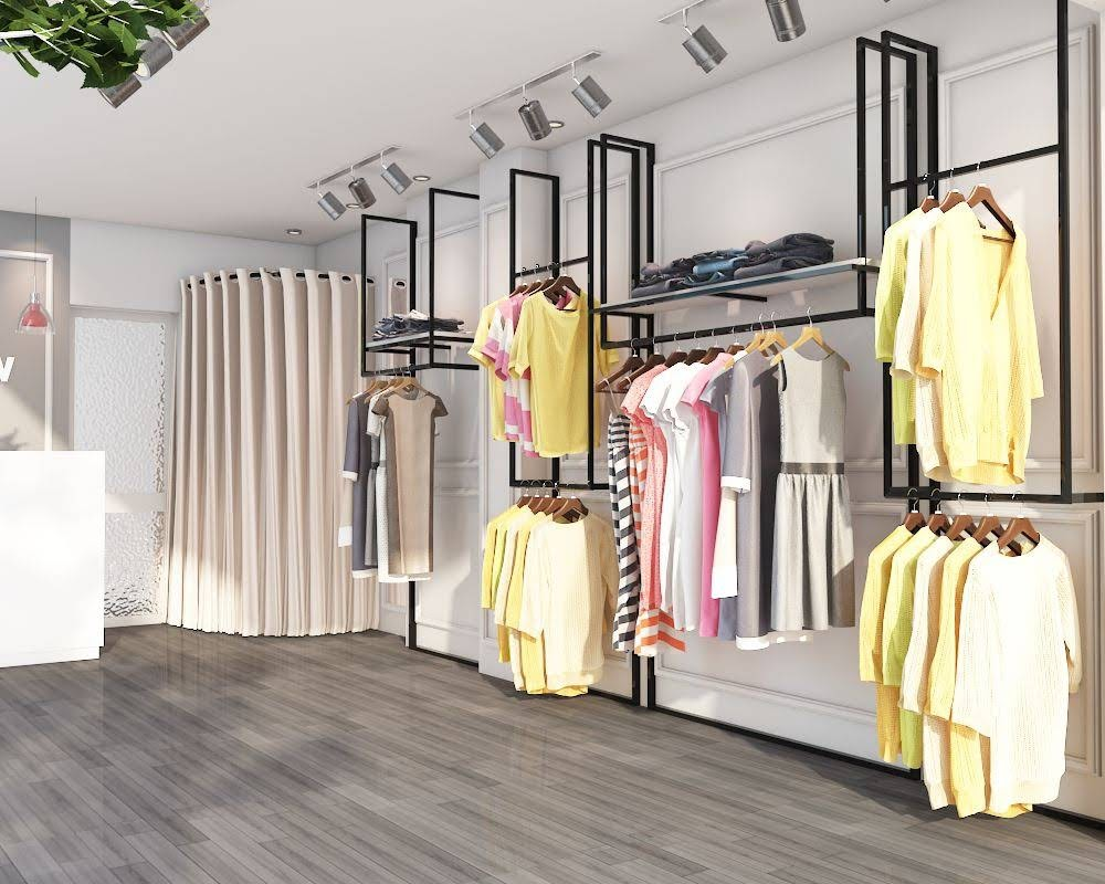 thiết kế shop thời trang nữ meow 3