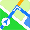 GPS Offline Navigation & Live Satellite Earth Map icon