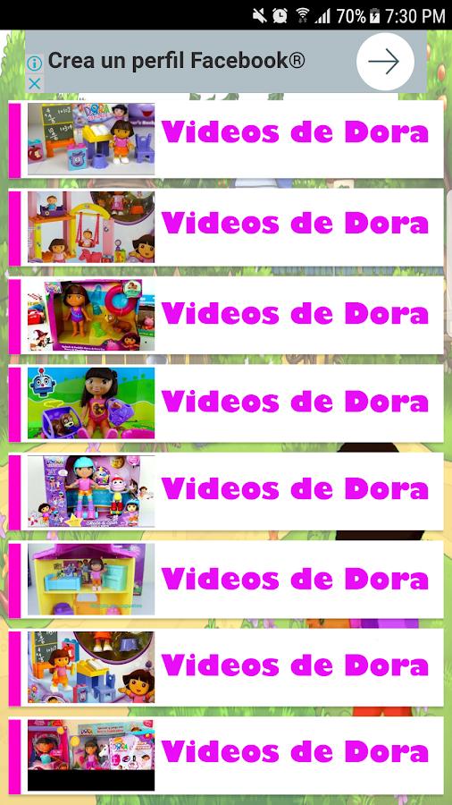 Videos de dora hd android apps on google play videos de dora hd screenshot voltagebd Image collections