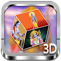 Ram 3D cube live wallpaper icon