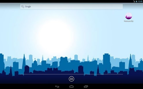 Panorama City Free Live Wallpaper Screenshot