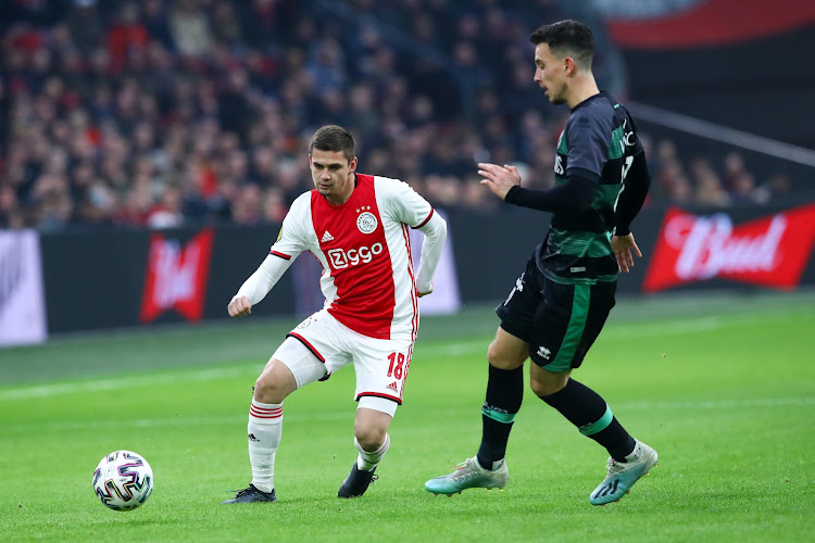 """Razvan Marin veut s'imposer à l'Ajax: """"Il a accumulé de la confiance"""""""