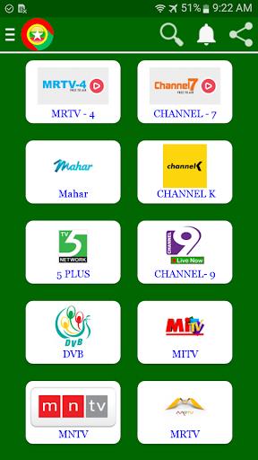 Myanmar TV App Report on Mobile Action - App Store