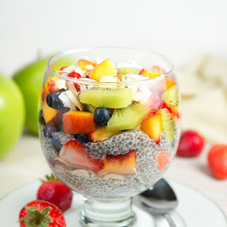 Fruit Chia Pudding Parfait