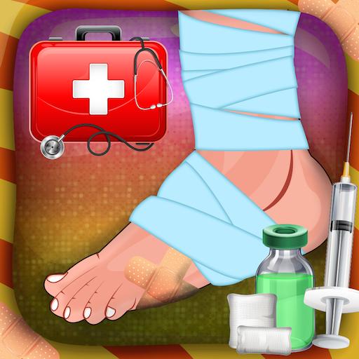 腳部手術模擬器 休閒 App LOGO-硬是要APP