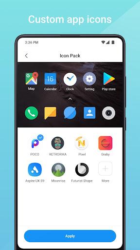 Mint Launcher screenshot 2