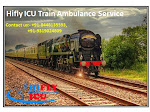 Get Best Train Ambulance Service in Dimapur By Hifly ICU