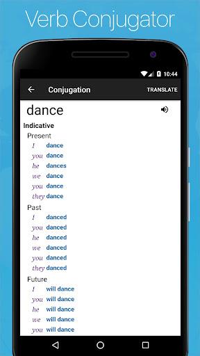 Spanish English Dictionary screenshot 4