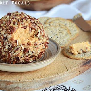Cheddar Cheese Ball Appetizer {aka Cheddar Pub Spread}.