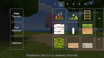 screenshot of Kiloblocks Lite