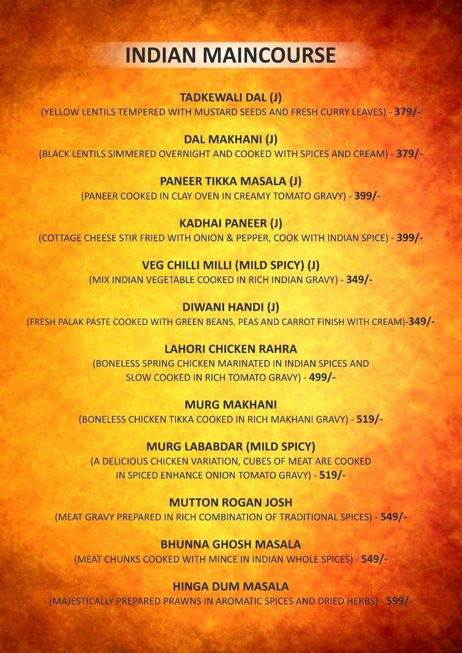 Burn Bar & Kitchen menu 4