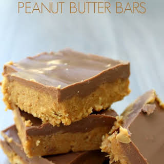 Easy No Bake Peanut Butter Bars.