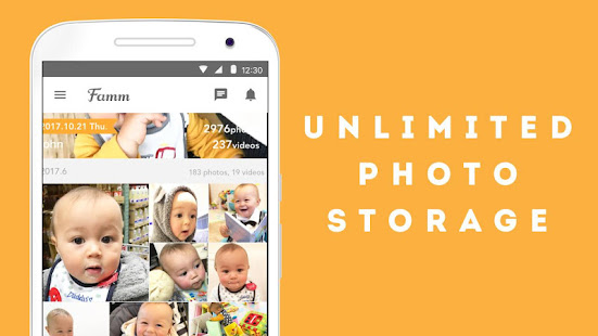 App Famm - photo & video storage for baby and kids. APK for Windows Phone