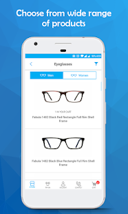 Contact Lenses, Sunglasses & Eyeglasses - LensPick- screenshot thumbnail
