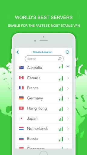 Freedom Best VPN Network Free Fast Unblock Website 2.1 screenshots 2