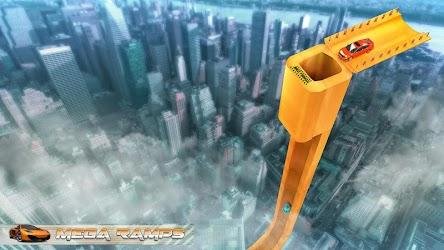 Mega Ramp Car Racing Impossible Stunts