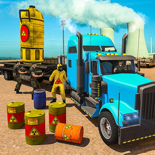 Nuclear Waste Transport Offroad Drive