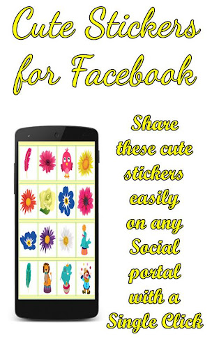 Cute Stickers for Facebook