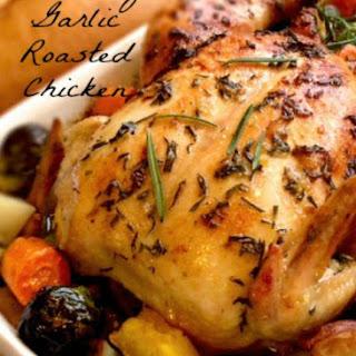 Roasted Rosemary Garlic Chicken.