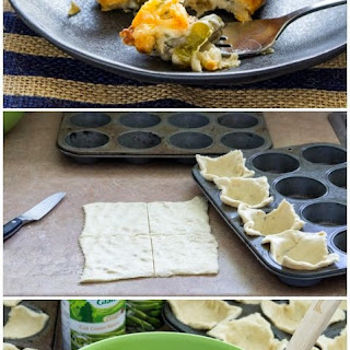 30-Minute Green Bean Casserole Crescent Cups