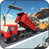 Road Building Construction Games - Bridge Builder