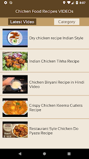 Chicken food recipes videos apps on google play screenshot image forumfinder Gallery