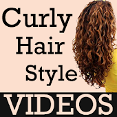Curly Hairstyles VIDEOs Steps