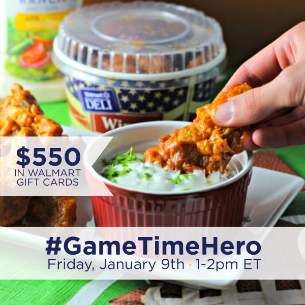 #GameTimeHero Twitter Party 1-9 1pm EST