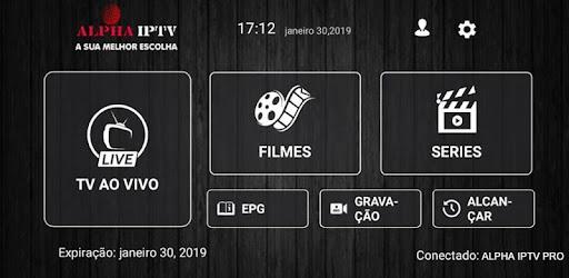 ALPHA IPTV PRO – Programme op Google Play